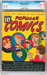 Comic Book Pedigrees, the online pedigree comic scan gallery  www